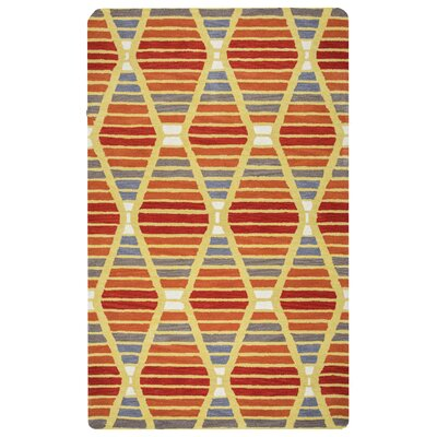 Rigoberto Hand-Tufted Multi Area Rug Rug Size: Rectangle 8 x 10