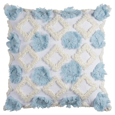 Mauch Cotton Pillow Cover Color: Blue