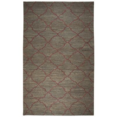 Masson Hand-Woven Brown Area Rug Size: Rectangle 8 x 10