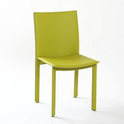 Berggren Side Chair Color: Green