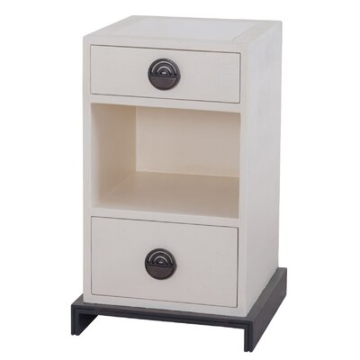 Cranford 2 Drawer Nightstand