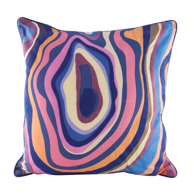 Genova Agate Throw Pillow