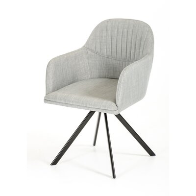 Obanion Synergy Arm Chair Upholstery: Grey