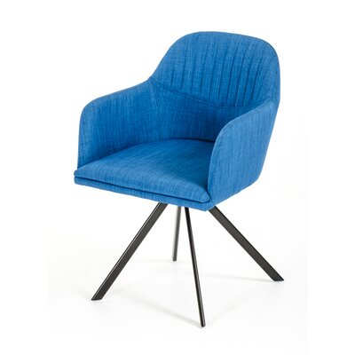 Obanion Synergy Arm Chair Upholstery: Blue