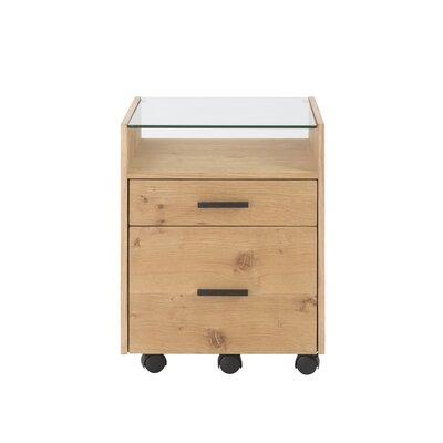 Karg 2-Drawers Mobile File Cabinet