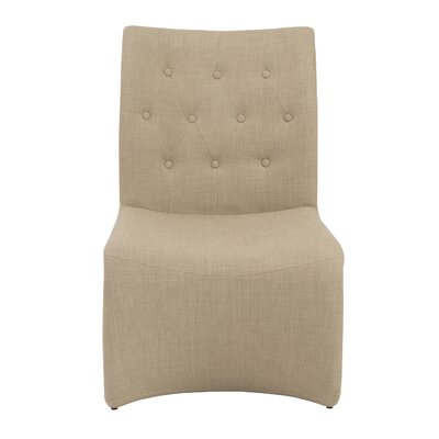 Knowle Lounge Chair Color: Tan