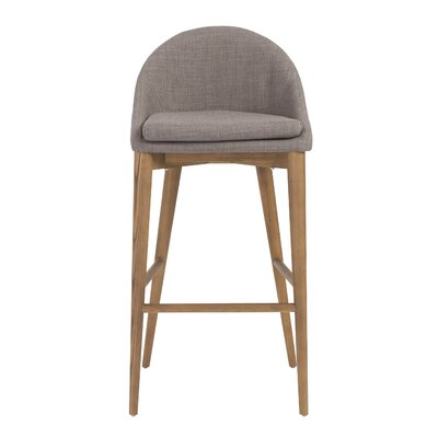 Cogdill Bar Stool Upholstery: Dark Gray