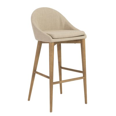 Cogdill Bar Stool Upholstery: Tan