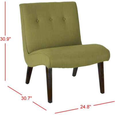 Soules Side Chair Upholstery: Sweet Pea Green