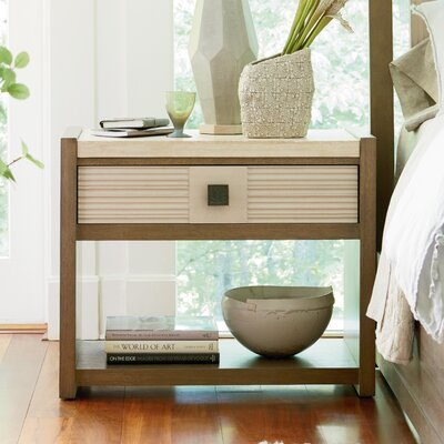 Antwi Dalke 1 Drawer Nightstand