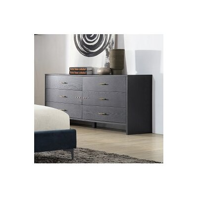 Gillies 6 Drawer Dresser