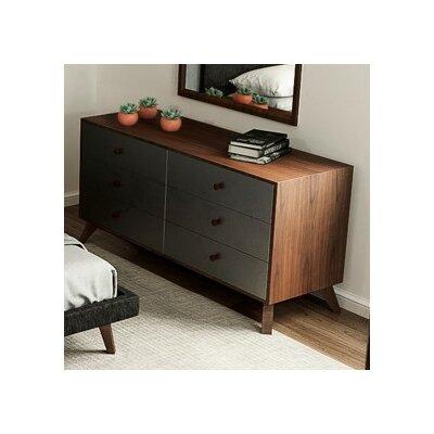 Filip 6 Drawer Standard Dresser