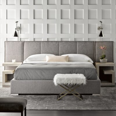 Fermin upholstered  Panel Bed Size: King