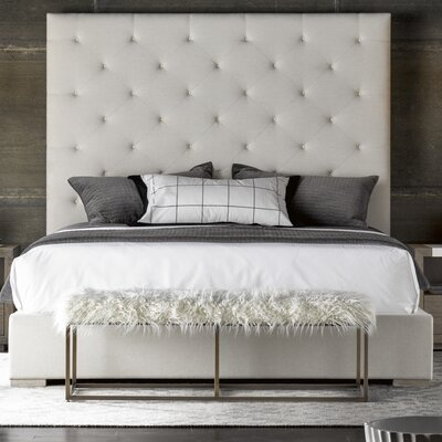 Flickinger Upholstered Panel Bed Size: Queen