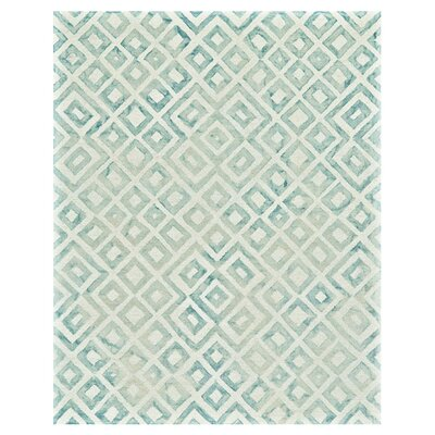 Bollin Rug in Aqua Rug Size: Rectangle 5 x 8