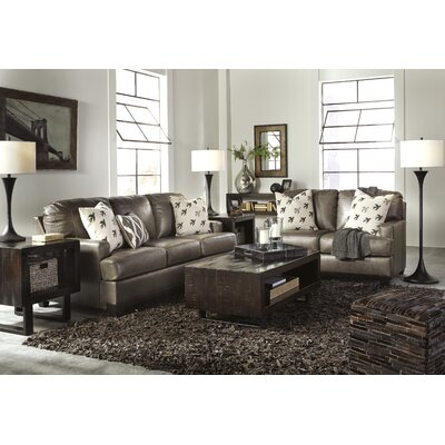 Omega Wood Frame Living Room Set