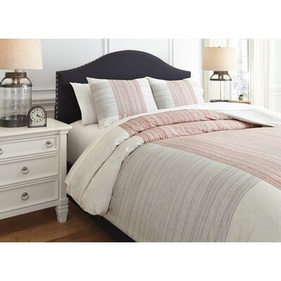 Bousquet 3 Piece Duvet Set Size: Queen
