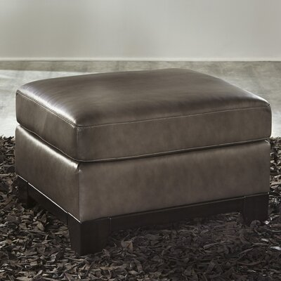Banton Leather Ottoman