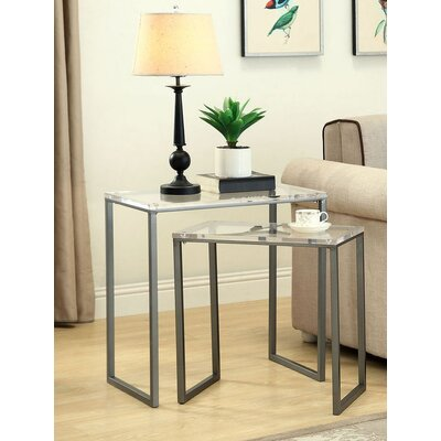 Brayden Studio Dyess 2 Piece Nesting Tables