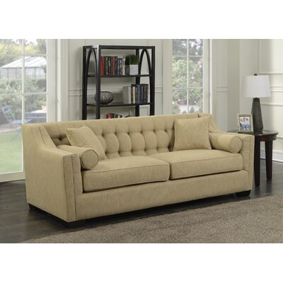 Costello Tufted Sofa Upholstery: Oatmeal