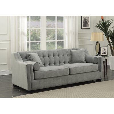 Costello Tufted Sofa Upholstery: Steel Gray