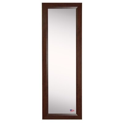 Brayden Studio Dark Walnut Full Length Body Mirror