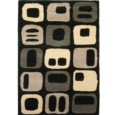 Brainerd Taffy Black/Beige Area Rug