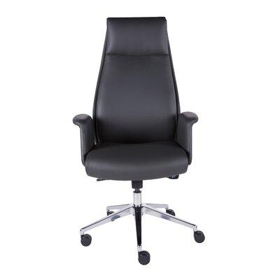 Follett High-Back Leather Executive Chair