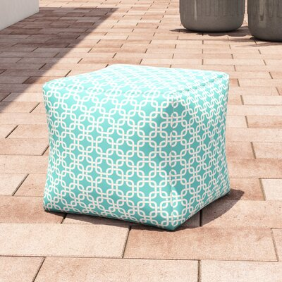 Danko Large Ottoman Fabric: Teal