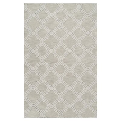 Mcnulty Gray Area Rug Rug Size: Rectangle 8 x 11