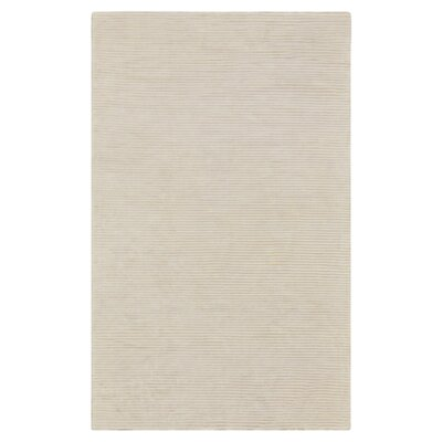 Dinardo Graphite Papyrus Striped Area Rug Rug Size: Rectangle 33 x 53