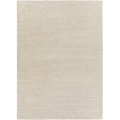 Dinardo Graphite Papyrus Striped Area Rug Rug Size: Rectangle 9 x 13