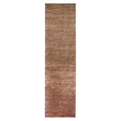 Gilkey Antique Brass Area Rug Rug Size: Runner 26 x 10