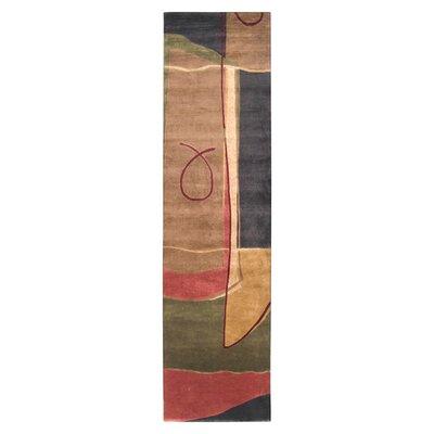 Gilkey Caramel Area Rug Rug Size: Runner 26 x 10