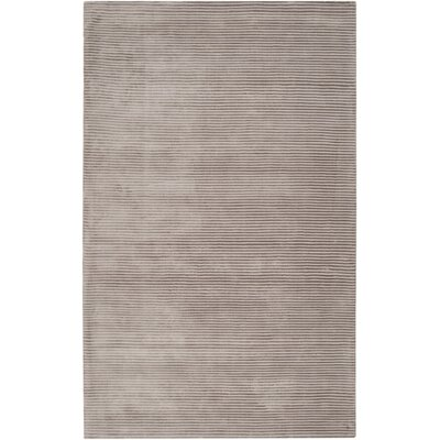 Cerny Graphite Ivory Striped Rug Rug Size: Rectangle 5 x 8