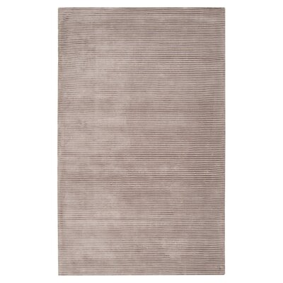 Cerny Graphite Ivory Striped Rug Rug Size: Rectangle 2 x 3