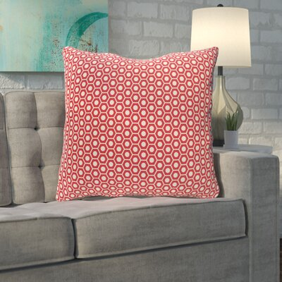Mercier Euro Pillow Color: Coral