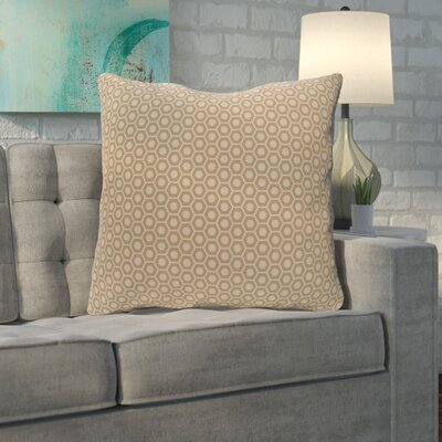 Mercier Euro Pillow Color: Flax/Oatmeal