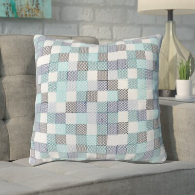 Cevenola Cotton Throw Pillow Color: Green