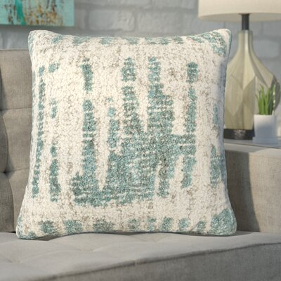 Ferreira Throw Pillow Color: NeutralGreen