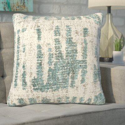 Ferreira Throw Pillow Color: NeutralGreen