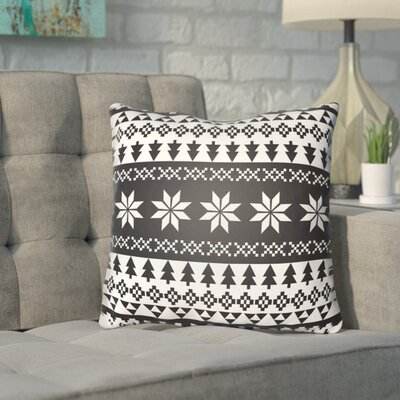Meisner Indoor/outdoor Throw Pillow Size: 16 H x 16 W x 4 D