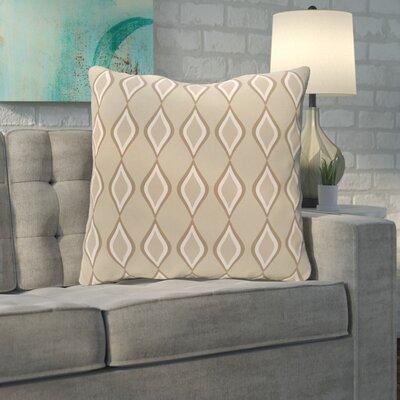 Mercier Euro Pillow Color: Latte/Flax/Oatmeal