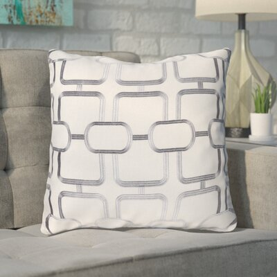 Herring Throw Pillow Color: Blue/White