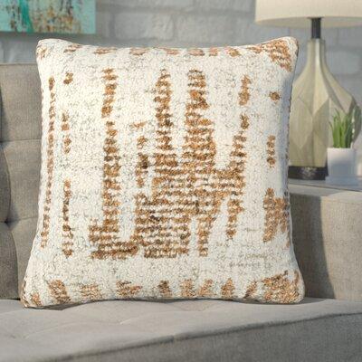 Ferreira Throw Pillow Color: NeutralOrange
