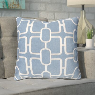Herring Throw Pillow Color: Gray/Blue