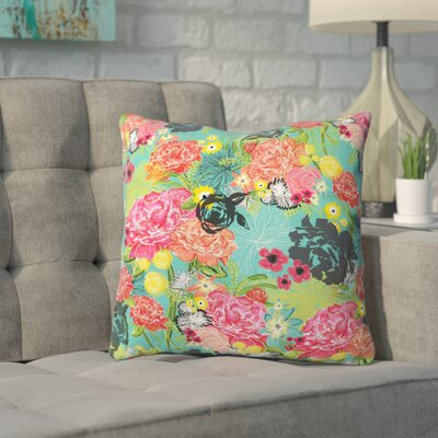 Banda Outdoor Throw Pillow Size: 16 H x 16 W x 4 D