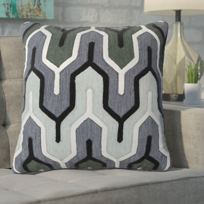 Alamak Modern Throw Pillow Color: Gray