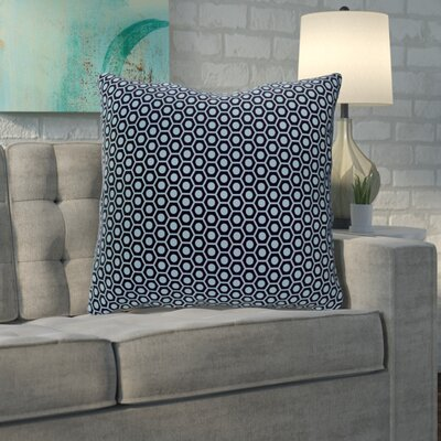 Mercier Euro Pillow Color: Spring/Navy/Carolina