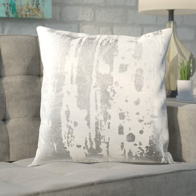 Jones Street Metallic Splatter Throw Pillow